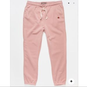 BROOKLYN CLOTH Rose Embroidered Mens Rose Swtpants